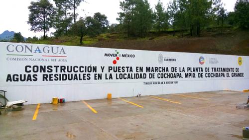PLANTA TRATADORA DE AGUAS RESIDUALES COCHOAPA (LAGUNAS)